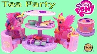 My Little Pony Princess Cadance & Celestia Have Cake Tea Party with Cupcakes Playset