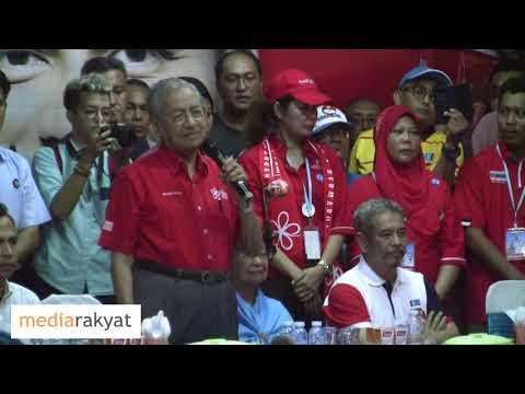 Tun Mahathir: Kalau Undi Yang Kita Menangi Kecil, Maka Najib Akan Tipu