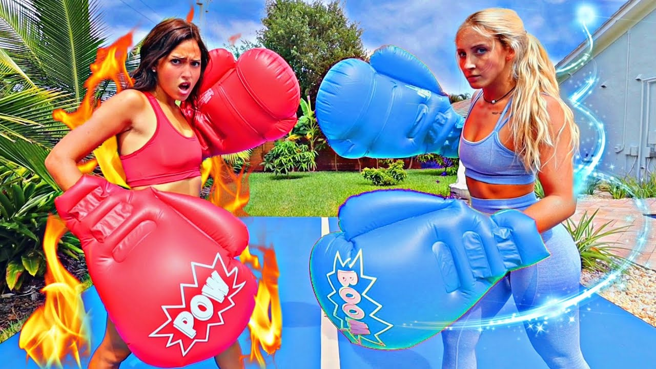 HOT GIRL vs COLD GIRL BOXING MATCH!