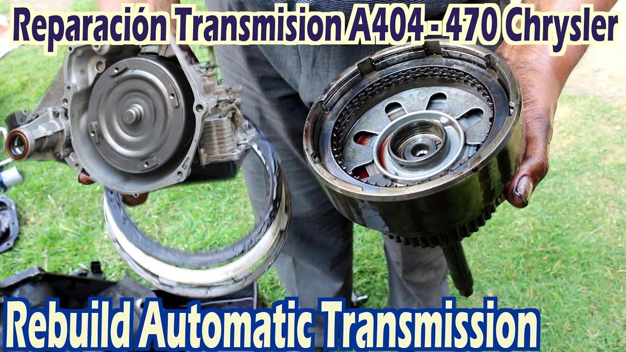 Transmisi U00f3n Autom U00e1tica A404  413 A415 A470 A670