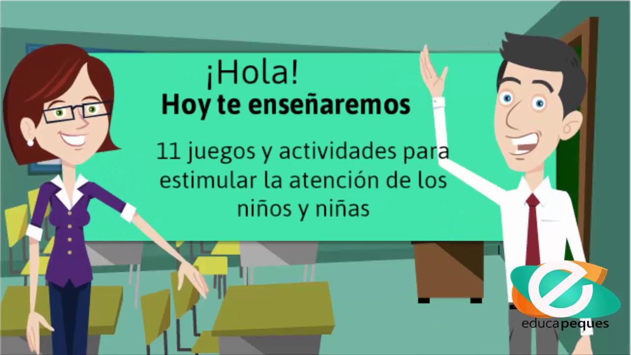 11 Juegos Y Actividades Para Estimular La Atencion De Los Ninos Y