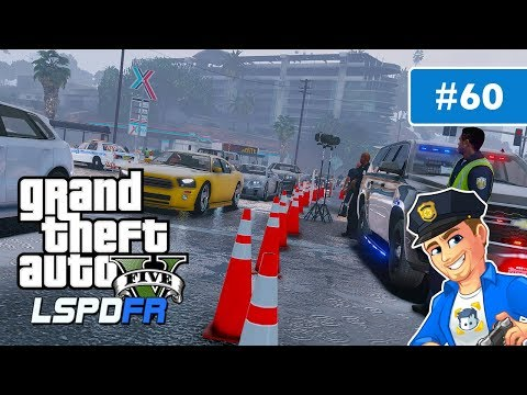 GTA 5 Miami Police Assisting With Hurricane Irma Evacuation | GTA 5 LSPDFR Police Mod | Day 60