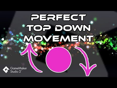 Perfect Top Down Movement - GMS2