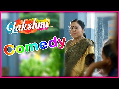 Lakshmi Tamil Movie | Back 2 Back Comedy Scenes | Kovai Sarala | Karunakaran | Prabhu Deva | Ditya