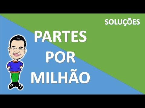 PARTES POR MILHÃO - PPM #6