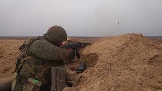 Боевое слаживание мотострелковых подразделений #ЗВО на полигоне Мулино