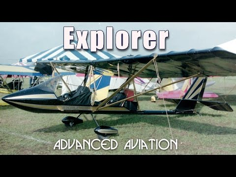 Explorer, Advanced Aviation Explorer, Keuthan Zephyr experimental aircraft kit.