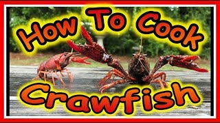 How to Boil Crawfish - Southern Style Cooking with Waller Life