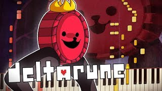 Deltarune - CHECKER DANCE | Piano Tutorial | Synthesia