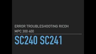 Без цензури, Проблема з лазером Модифікації копір Ricoh MPC300sr MPC400sr ТІЛЬКИ З ГОЛОСОМ
