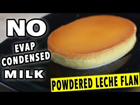Powdered Leche Flan Using Whole Egg WITHOUT Condensed And Evap Milk