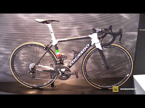 e49b16aecf7 2018 Colnago C60 Road Bike Walkaround Campagnolo Stand at 2017 Eurobike