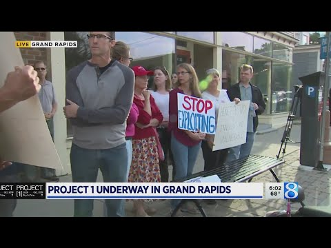 Project 1 by ArtPrize kicks off in Grand Rapids - YouTube