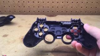 PS3 Sixaxis Controller dissasembly/reassembly