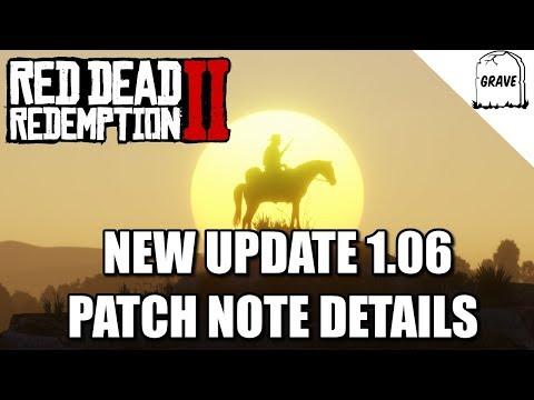 Red Dead Redemption 2 Update 1.06 Details thumbnail