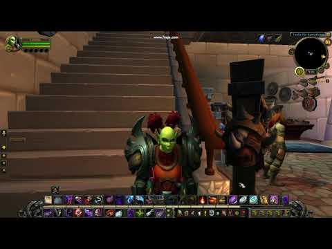World of WarCraft No Work Wake Up!