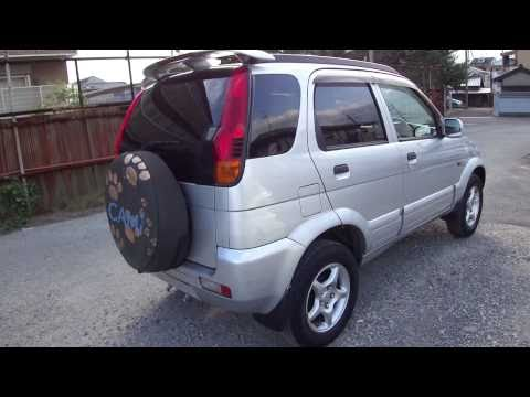 Toyota Cami 4WD 1999 year Silver J100E for sale Japan. Stock car information
