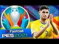 EURO 2020 | EURO 2021 ЗА СБОРНУЮ УКРАИНЫ В PES 2021 #1