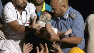 3 brothers rescued after being trapped in quake rubble