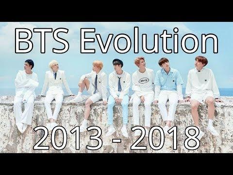 BTS Evolution | 2013 - 2018