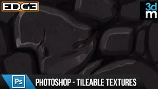 Photoshop Tutorial - Create Hand-Painted Tileable Textures HD by 3dmotive