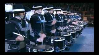 Top Secret Drum Corps Edinburgh Military Tattoo 2012