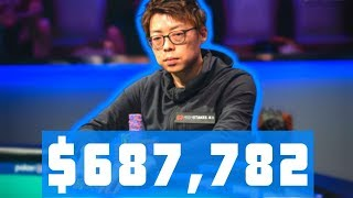 Joseph Cheong Wins First Bracelet at 2019 World Series of Poker