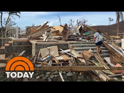 Woman Who Evacuated From Hurricane Irma Now Trapped By Hurricane Maria In Puerto Rico | TODAY