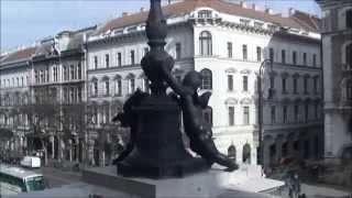 ハンガリー ブダペストオペラ座  バルコニーからの眺め