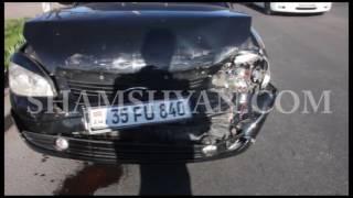 Ավտովթար Էջմիածնում  վարորդը ВАЗ 21703 ով բախվել է ՃՈ Toyota Corolla ավտոմեքենայի հետնամասին