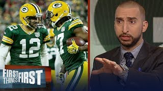 Nick and Cris recap Packers MNF win over 49ers | NFL | FIRST THINGS FIRST
