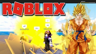 Roblox-Releasing the Super Sayan (Dragon Ball Rage)