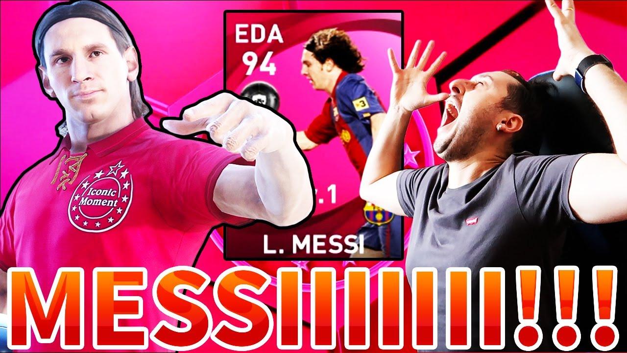 MESSI!!! MESSI!!! MESSIIIIIII!!!! COMINCIAMO col BOTTOOO!!! [PES 2021 BALL OPENING ICONIC MOMENT] #1