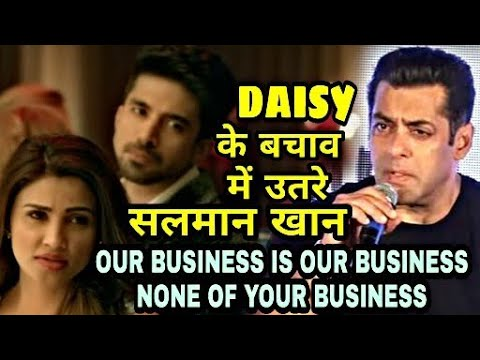 Race 3 | Salman khan defends Daisy Shah...
