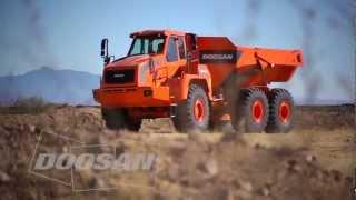 Video still for Doosan Articulated Dump Trucks Deliver