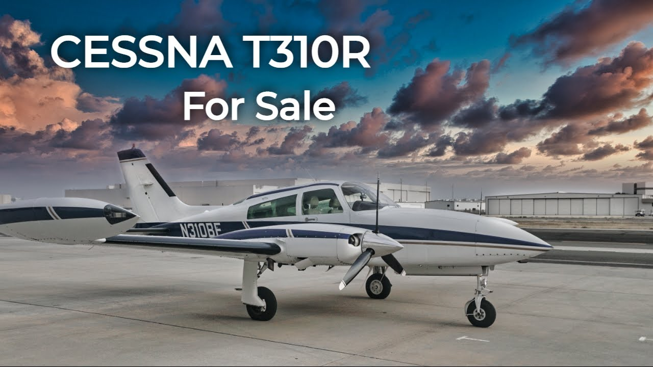 #34 1978 Cessna T310R - FOR SALE - Quick Test Flight and Overview