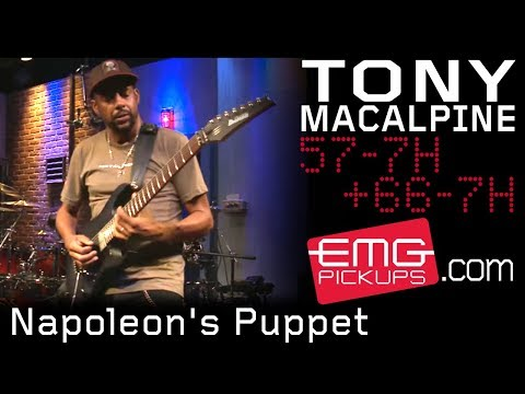 "Tony MacAlpine Performs ""Napoleon's Puppet"" Live On EMGtv"