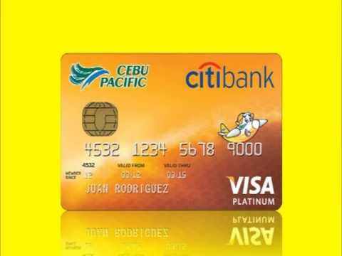 Earn Points and Fly with Cebu Pacific Citibank Card!