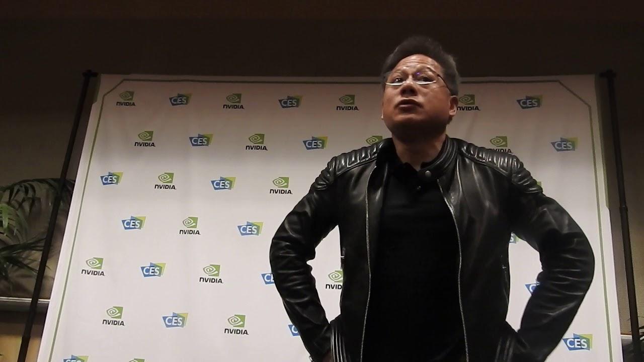 Nvidia S Jensen Huang Goes Off Script With Ces 2018 Q A Venturebeat
