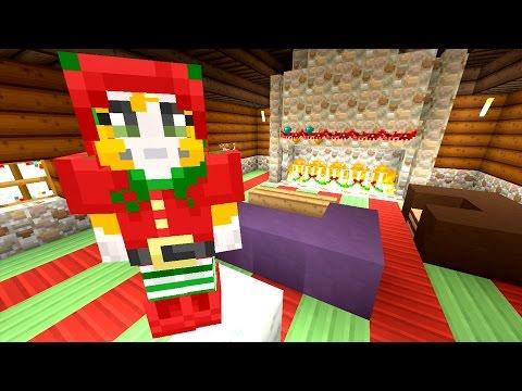 Minecraft: Xbox - Building Time - Santa's Grotto {66}