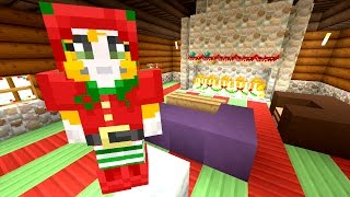 Minecraft: Xbox - Building Time - Santa's Grotto {66}