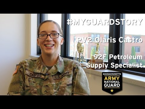 92F Petroleum Supply Specialist In The Army National Guard