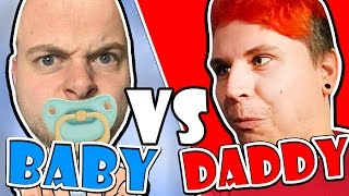 SquiddyPlays - BABY VS DADDY!! (Daddy's Nightmare Mode) - Who's Your Daddy!