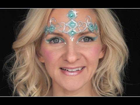 Princess Crown Face Painting Tutorial!