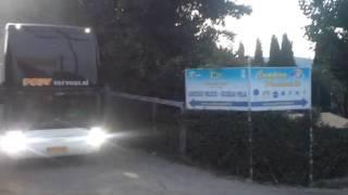 Aankomst camping Lago di Bracciano 2014