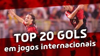 Top 20 Gols em Jogos Internacionais - #TOPCAP