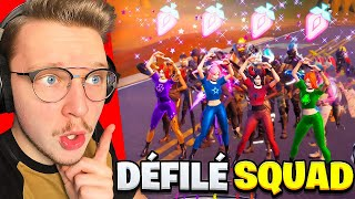 Le Meilleur PERFECT TIMING du MONDE sur Fortnite ! (défilé de mode en section)
