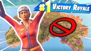 Can You Win WITHOUT LANDING In Fortnite? (Challenge)