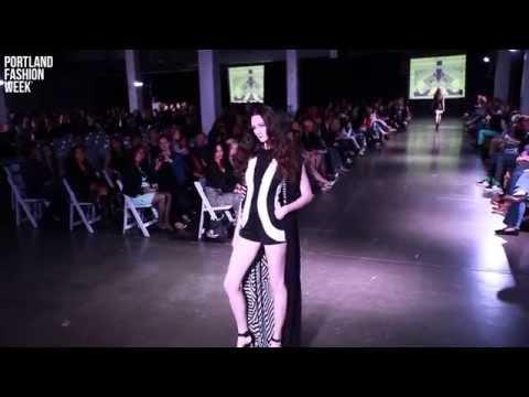 Chelsea Brist at Portland Fashion Week Spring 2014