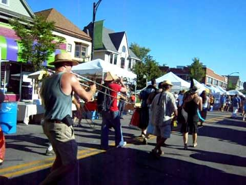 12/8 Path Band at Elmwood Festival of the Arts, Buffalo NY 08/29/10